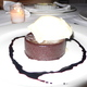 Pralus Chocolate Truffle Cake with Ninety Farms Stracchiatelle Gelato and Cherry Vinegar Reduction at Cafe Juanita