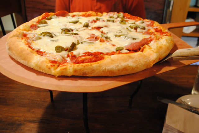 Fire pizza at toad house pizza pub dragon fire pizza at toad house pizza pub sciox Image collections