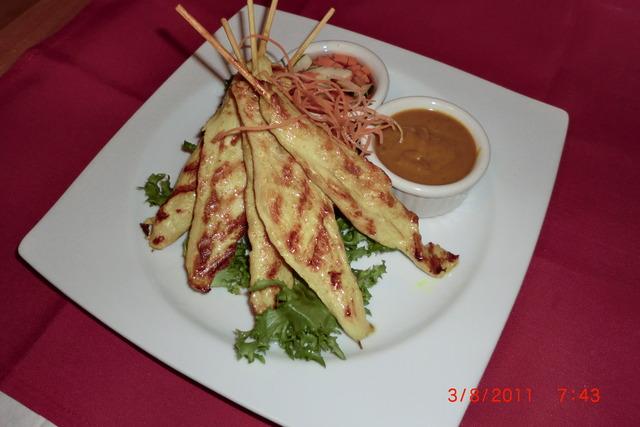 Dish at Sib Song Sushi and Thai