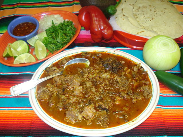 Birria at La Reyna Mexican Restaurant & Mariscos