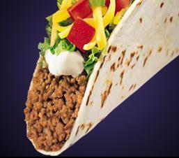 SOFT TACO SUPREME® at Del Taco