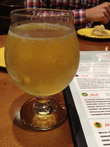 Noble Cider at Tupelo Honey Cafe