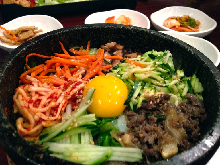 Bibimbap - Restaurant Menu at Korea Garden Restaurant