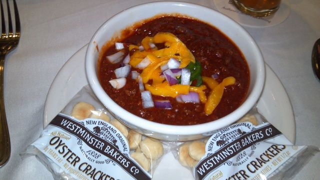 "Karen's ""Flying D"" Bison Chili at Ted's Montana Grill"
