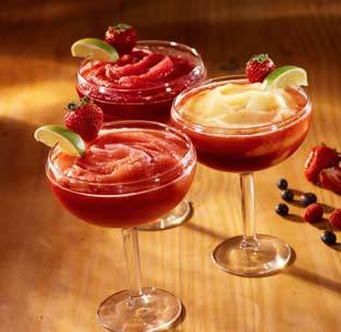 Frozen Margaritas Strawberry, Wild Berry or Strawberry-Mango at Olive Garden