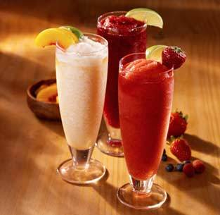 Daiquiris Strawberry, Peach, Mango or Wild Berry at Olive Garden
