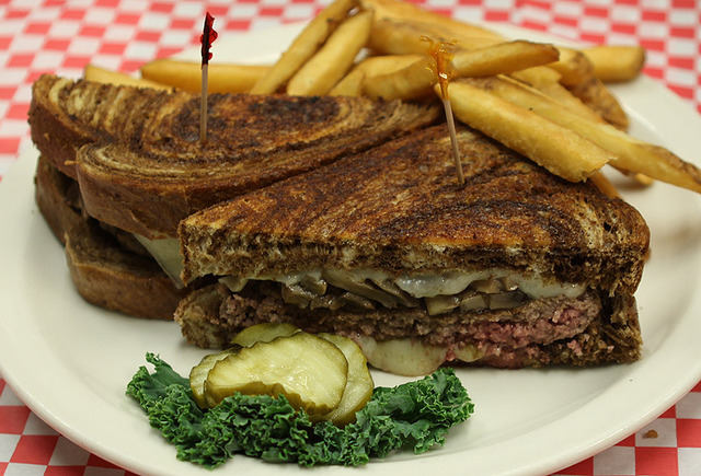 Patty Melt at Mean Woman Grill