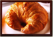 Croissants at La Madeleine French Bakery