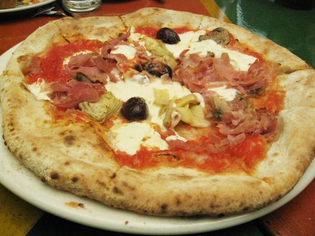 Capricciosa at Antica Pizzeria CO