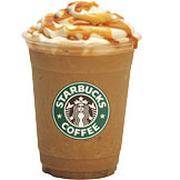 Caramel Frappuccino® Blended Coffee at Tully's Coffee