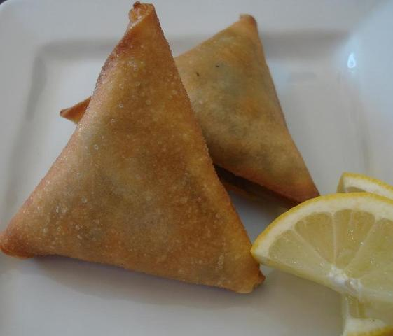 Samosa at Safari DC