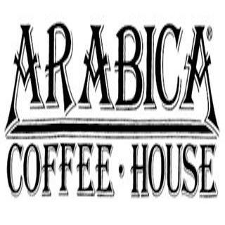 Logo at Arabica Coffee House