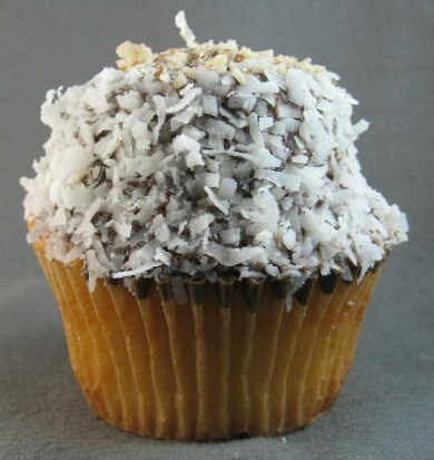 Almond Joy Cupcake at The Yellow Leaf Cupcake Company
