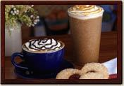 Frozen and Hot Specialties at La Madeleine French Bakery