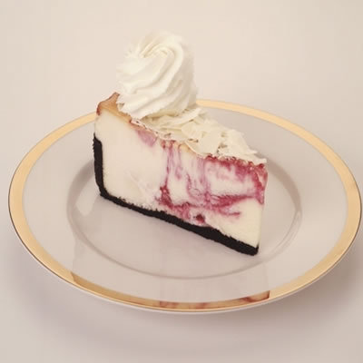 White Chocolate Raspberry Truffle at The Cheesecake Factory