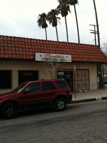 Carrillo S Restaurant In San Fernando