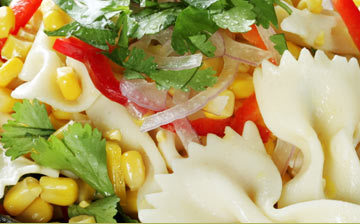 Photo of Corn & Bowtie Pasta Salad