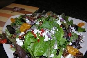Nice salad - Field of Greens Salad at BJ's Restaurant Brewhouse