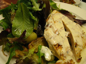 Salad with Chicken at Isabella's