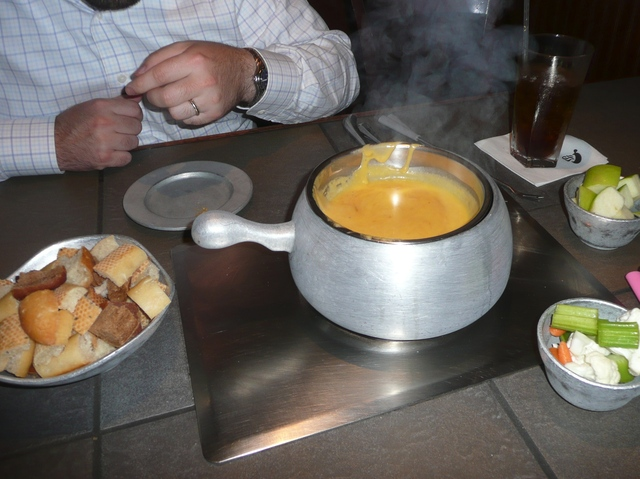 Photo of Cheddar and Ale Fondue