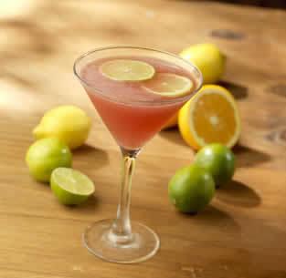 Pomegranate Margarita Martini at Olive Garden