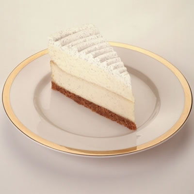 Vanilla Bean Cheesecake at The Cheesecake Factory
