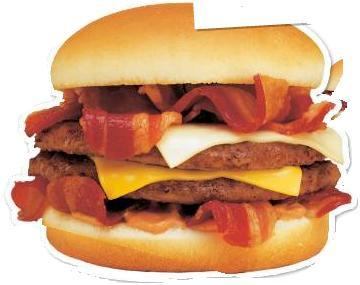 Big Daddy Bacon Cheeseburger at Burger King