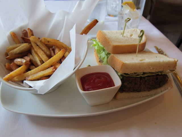 Meatloaf sandwich at John Howie Steak Restaurant