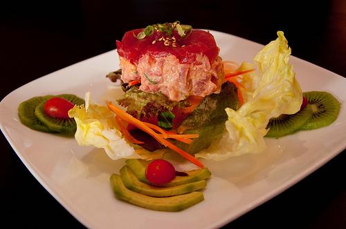TUNA TARTAR at Arisu Japanese Cuisine