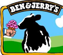 Logo at Ben & Jerry's