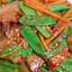 See Thru Chinese Kitchen B.B.Q Pork with Peapods - Dish at Chinese Kitchen