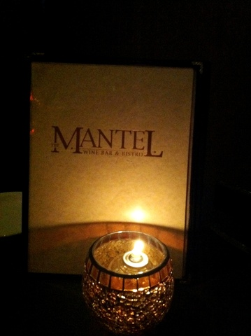Logo at The Mantel Wine Bar and Bistro