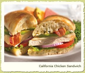 NEW CALIFORNIA CHICKEN SANDWICH at Coco's