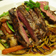 Asian Noodles with steak at Isabella's