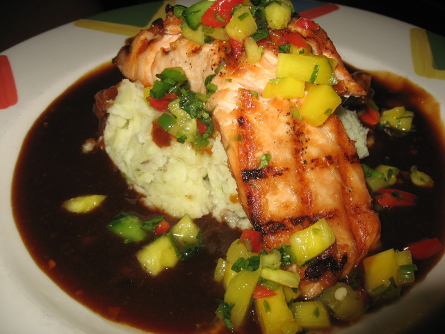 Photo of Caribbean Barbecued Salmon