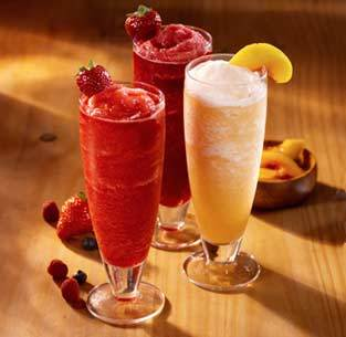 Bellinis Strawberry, Peach or Wild Berry at Olive Garden