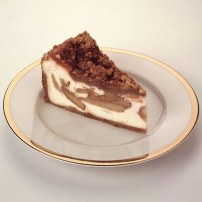Dutch Apple Caramel Streusel at The Cheesecake Factory