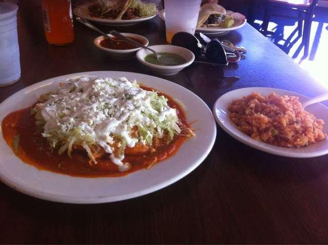 Dish at San Lucas Mexican Restaurant