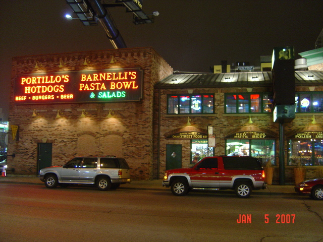 Photo at Portillo's Hot Dogs