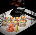SALMON AVOCADO RO;; at Arisu Japanese Cuisine