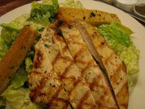 Chicken Caesar at Isabella's