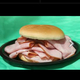 2. Ham Sandwich at Subway