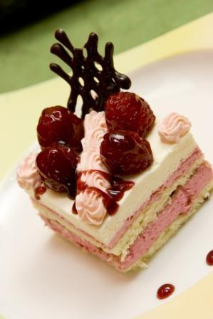 Raspberry Torte at Two Chef's Casual Dining Restaurant