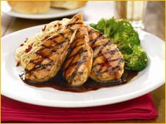 Honey Balsamic Chicken at Romano's Macaroni Grill