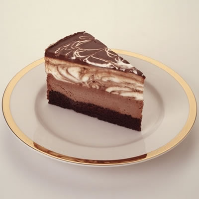 Chocolate Tuxedo Cream Cheesecake at The Cheesecake Factory
