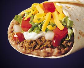 BURRITO SUPREME® at Taco Bell
