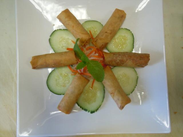 Spring Roll at Saba Cafe