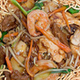 See Thru Chinese Kitchen Combinations Noodles - Dish at Chinese Kitchen