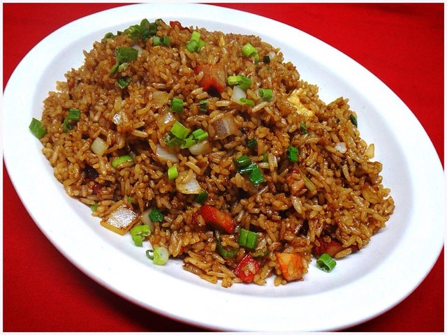 Roast Pork Fried Rice at Kum Fong Restaurant