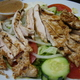 Salad with Chicken at A-1 Deli